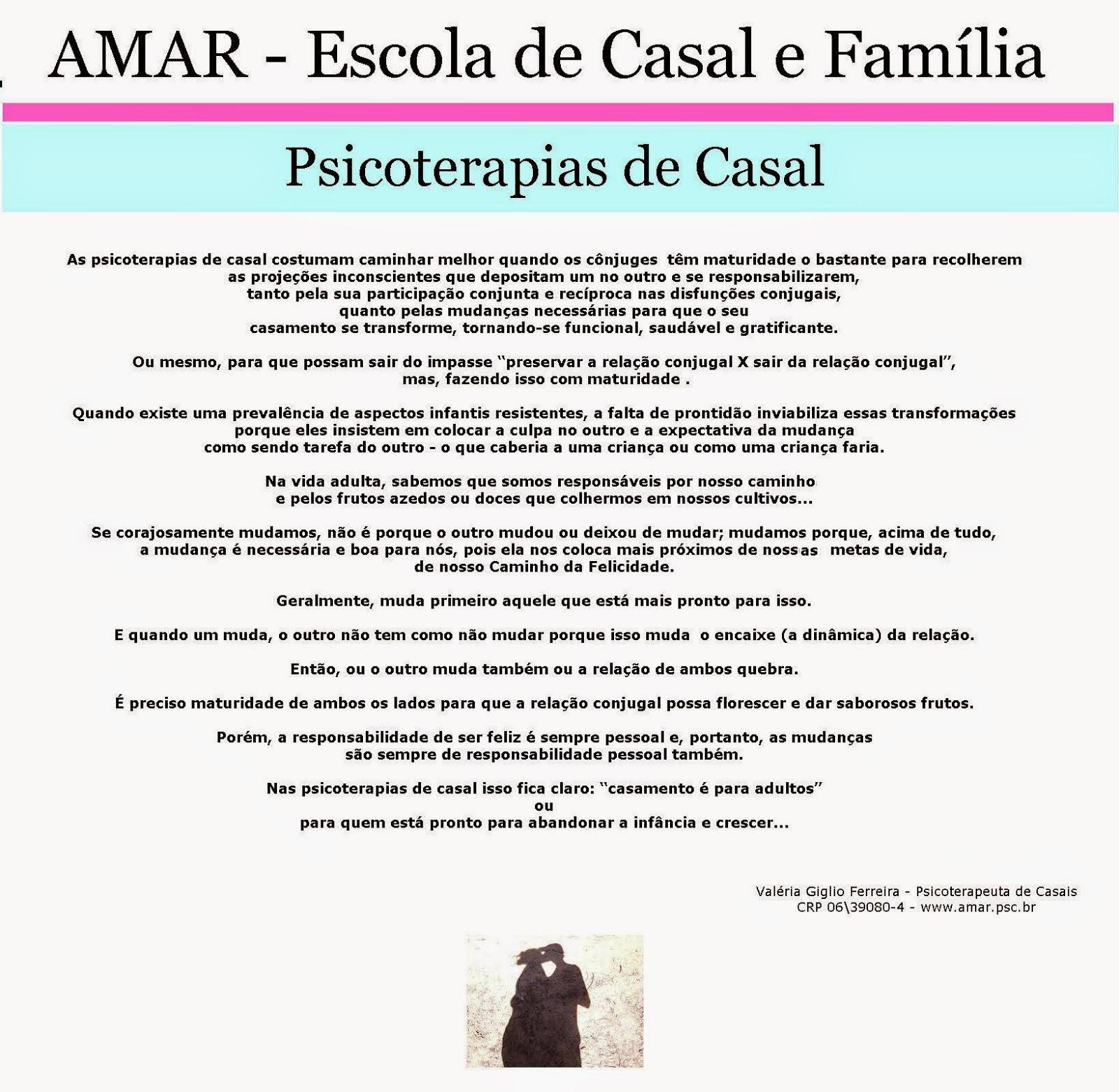 Psicoterapias de Casal - Texto revisado