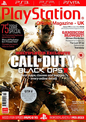 Play Station October 2012 (Uk)