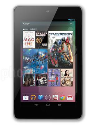 Review Spesifikasi Dan Harga Google Nexus 7