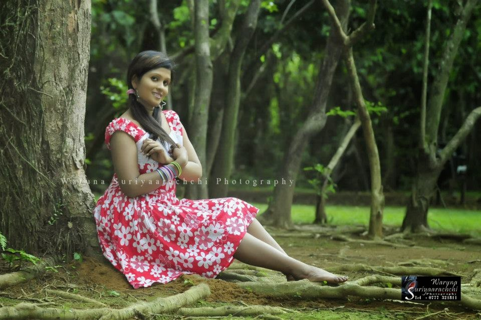 Anjula Gamage frock