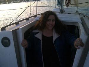 My wife aboard!