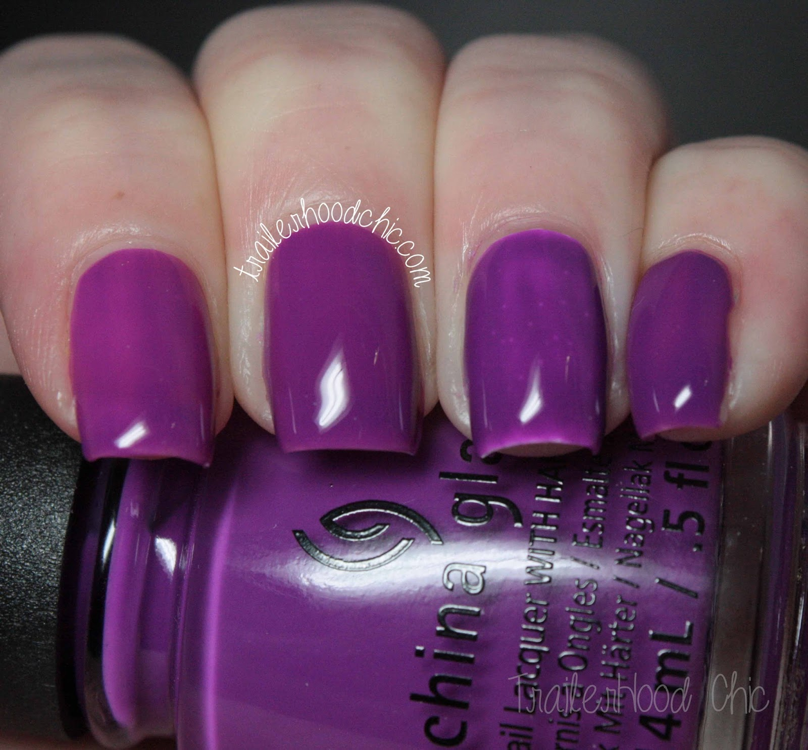 china glaze electric nights review swatches violet vibes