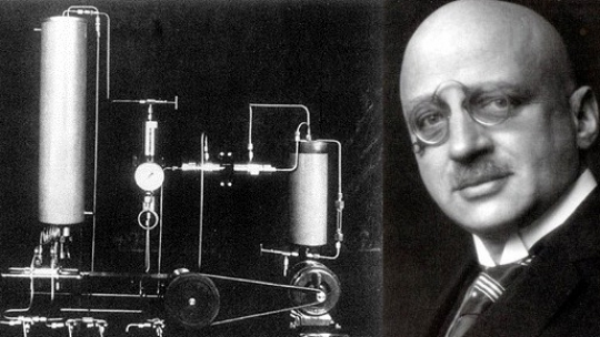 fritz haber In 1918, haber would be awarded the nobel prize in chemistry for his work in developing a method of synthesizing ammonia from nitrogen in the air—the process that enabled the production of.