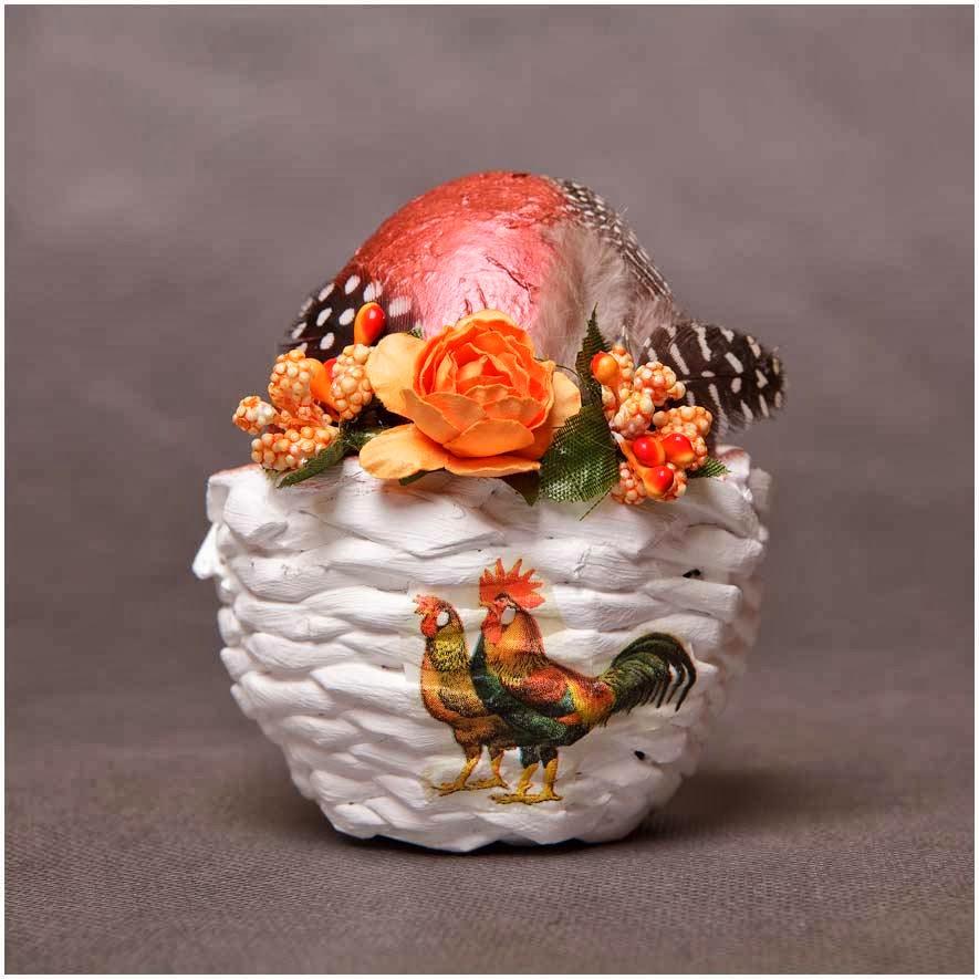 Tutorial - jajko w koszyczku