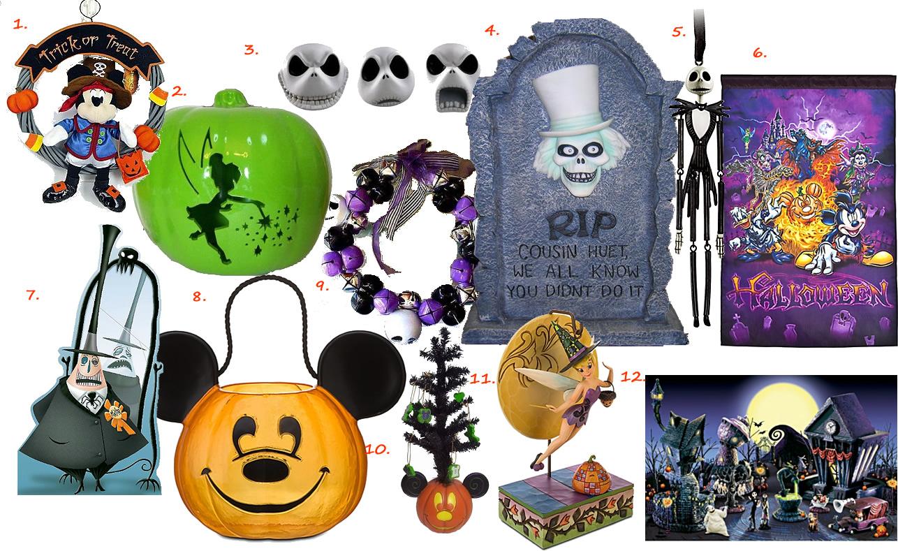 Decoration Halloween Disney : Lipstick kingdom halloween decorating disney style
