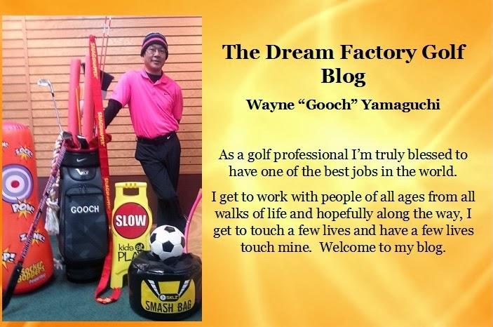 Goochpro's Dream Factory Golf Blog