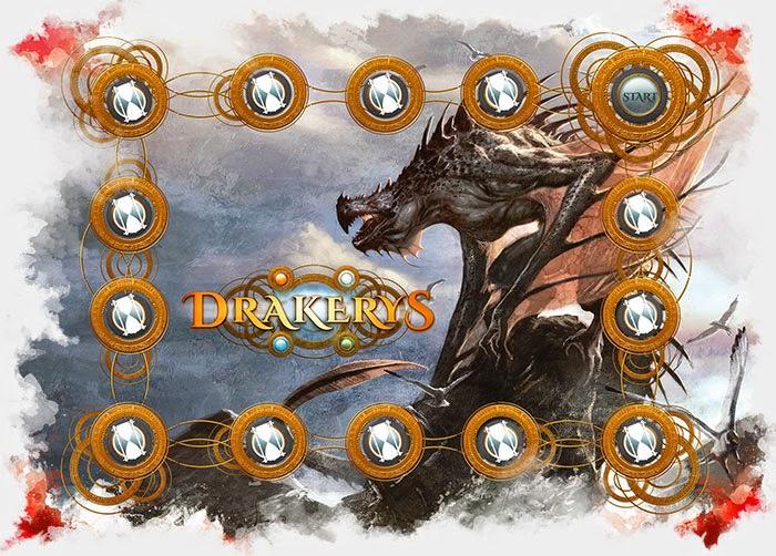 Drakerys 32mm Skirmish Game interview action wheel
