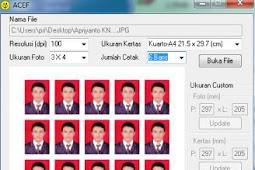 Aplikasi Cetak Pas Foto