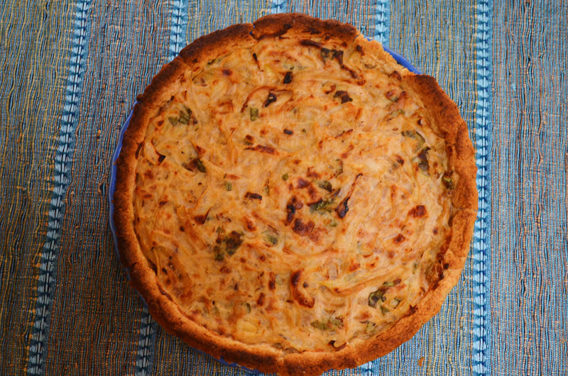 Gormandize vegan zwiebelkuchen german onion pie so i decided to give it a try as part of my german food month this recipe is my own vegan version which turned out even better than i had hoped forumfinder Gallery
