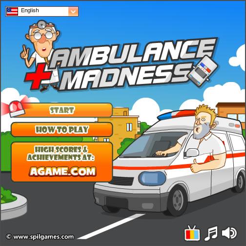 Truck Game : Ambulance Madness