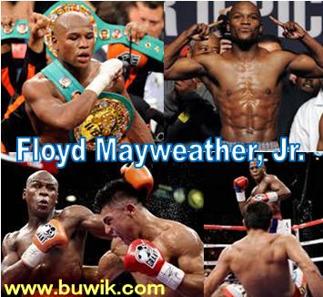 Biografi, Biodata dan Catatan Prestasi Petinju Floyd Mayweather, Jr.