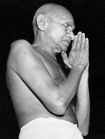 mahatma gandhi essays and reflections