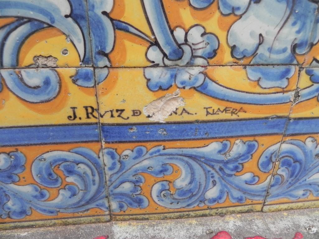 Puerta de osario los bancos de azulejos de los patos - Azulejos con dibujos ...