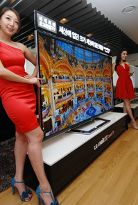 LG 3D TV With Resolution Ultra Definition