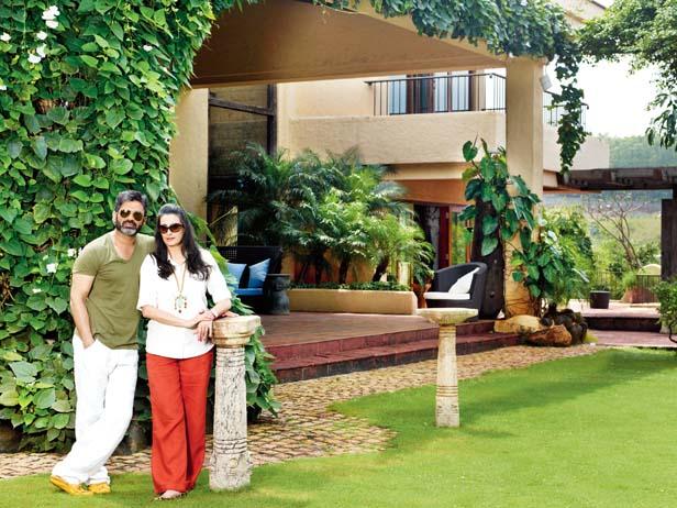 Actor Suniel Shetty House Pics Mere Pix