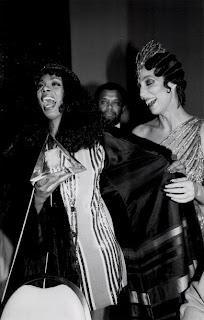 Cher and Donna Summer in 1979