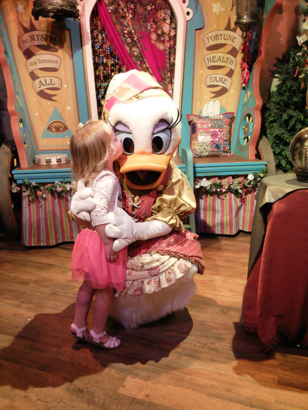 Walt Disney World, Magic Kingdom, Madame Daisy Fortuna