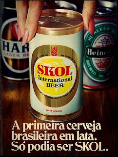 propaganda cerveja anos 70; 1971; os anos 70; propaganda na década de 70; Brazil in the 70s, história anos 70; Oswaldo Hernandez;