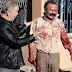 Mengerikan, Dengan Berlumur Darah dan Pisau Lelaki ini Mengincar Muslim!