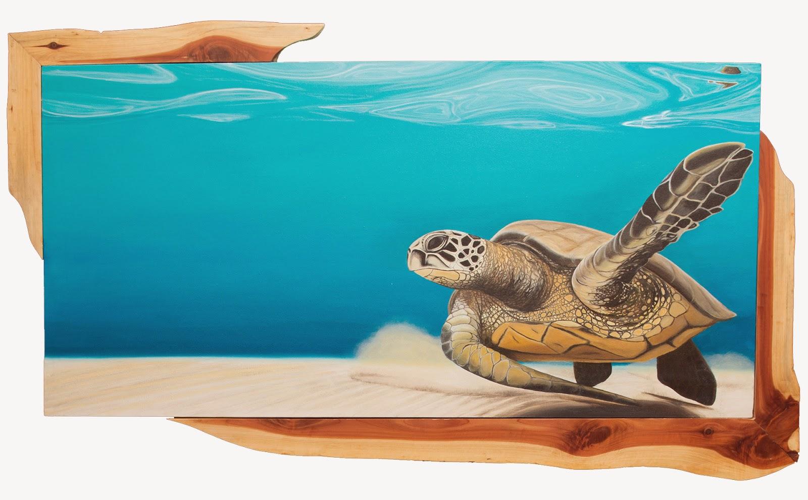 sea turtles by alexa 14 best paintings of 2014