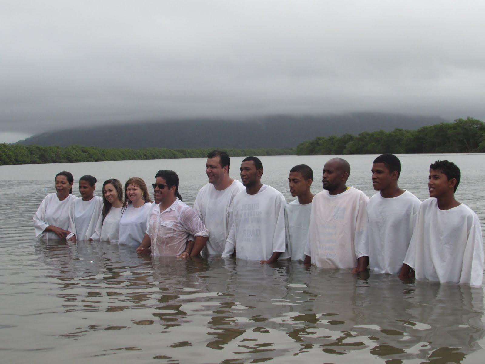 Batismo nas águas 2015: