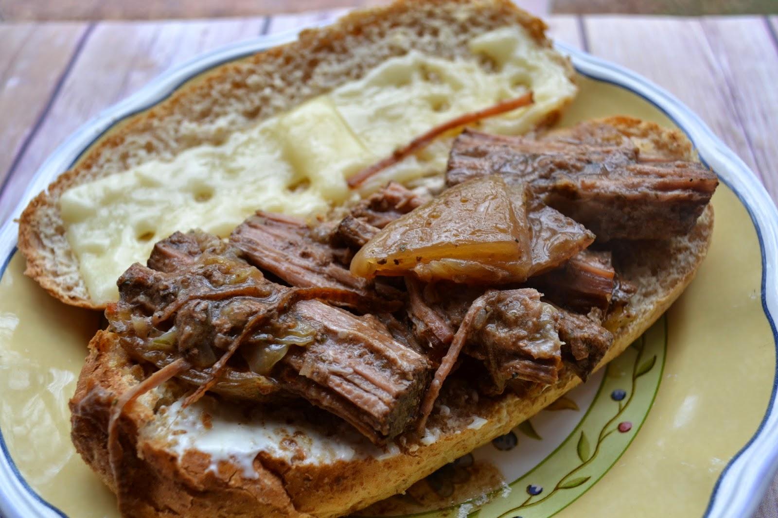 Leftover Pot Roast Sandwiches