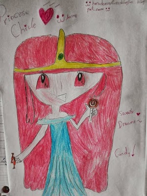 Princesa Chicle (Dibujo mio animee)