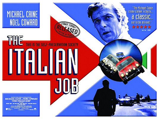 a2zPosters: The Italian Job (1969) - 57.7KB