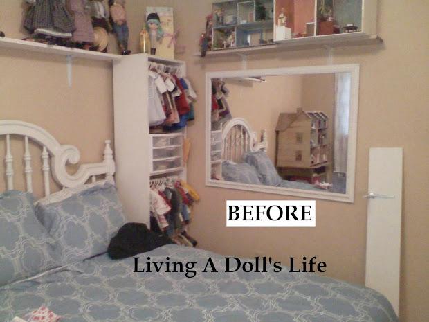 American Girl Doll Storage Idea