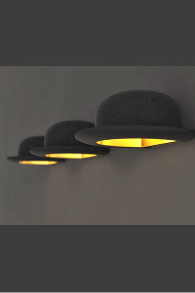 jeeves bowler hat wall lights and table lamps