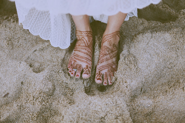 henna feet melbourne wedding