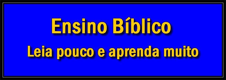 Ensino Bíblico Online