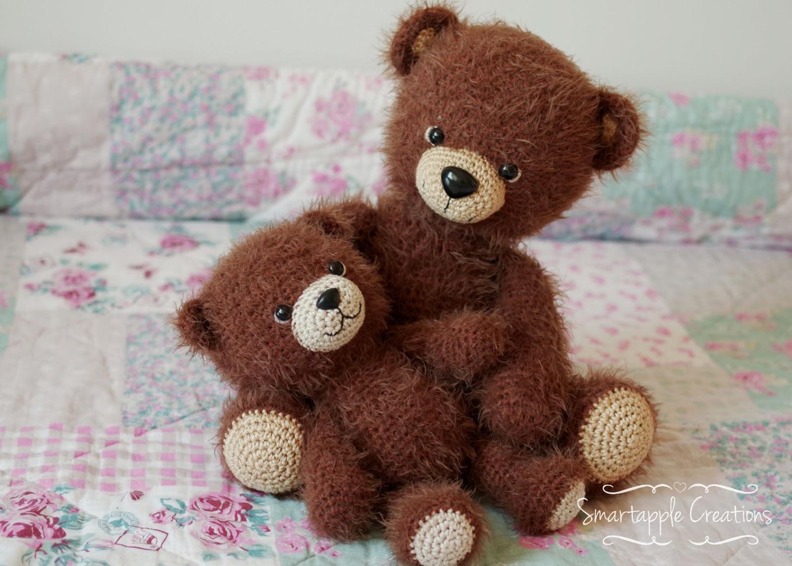Amigurumi Teddy Bears : Smartapple creations amigurumi and crochet