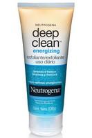 Amostra Gratis DEEP CLEAN Esfoliante para o rosto Johnson & Johnson