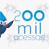 200 mil acessos