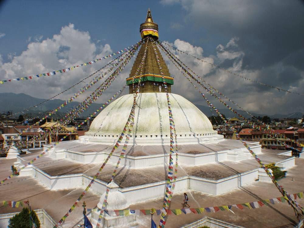 boudhanath stupa stunning buddhist stupa of tibetan in