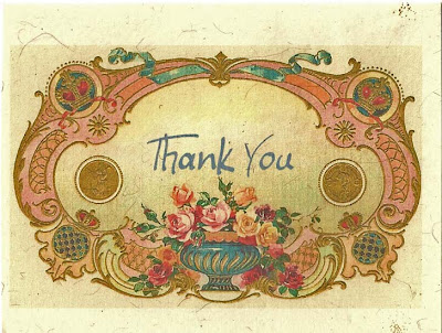 image vintage thank you shabby chic