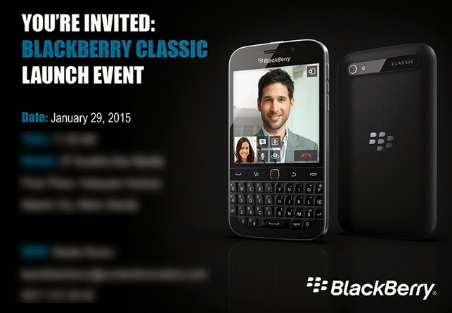 BlackBerry Classic Philippines