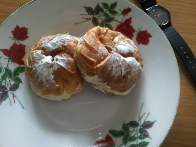 Cream Puff Sos Kastard Gebu dan Sedap