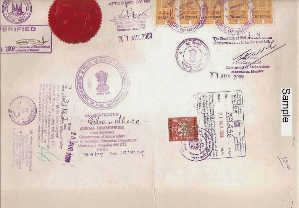 Single Status Certificate Attestation Apostille Services And