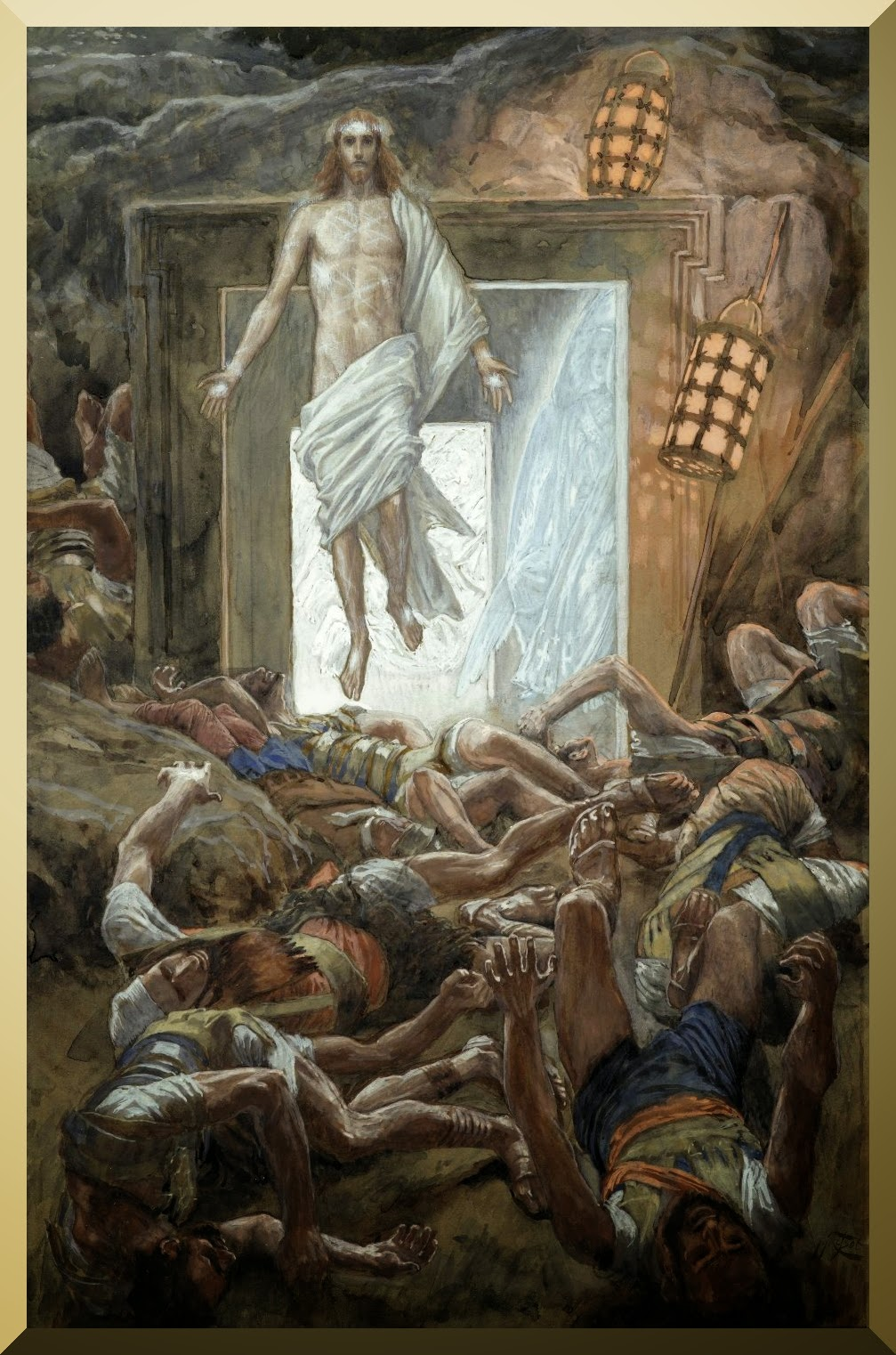 """The Resurrection"" -- by James Tissot"