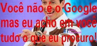 Cantadas do Rodrigo Faro no Facebook