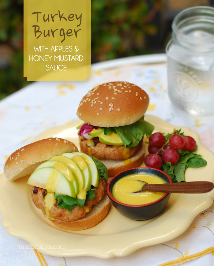 Honey-Mustard Turkey Burgers Recipe — Dishmaps