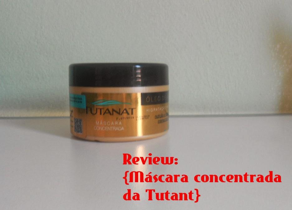 Resenha: Máscara concentrada de óleo de argan da Tutanat