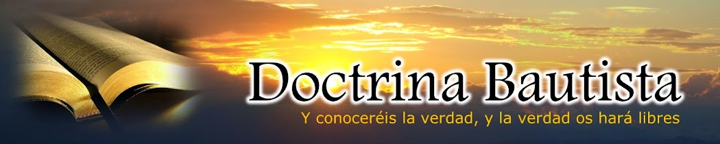 DOCTRINA BAUTISTA