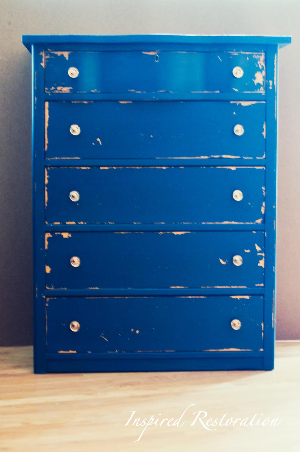 Shabby Chic Blue Dresser Shabby Chic Blue Distressed