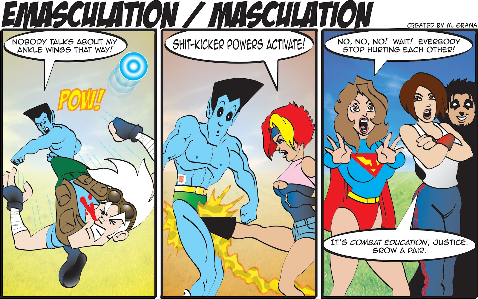 Super U.: Emasculation / Masculation