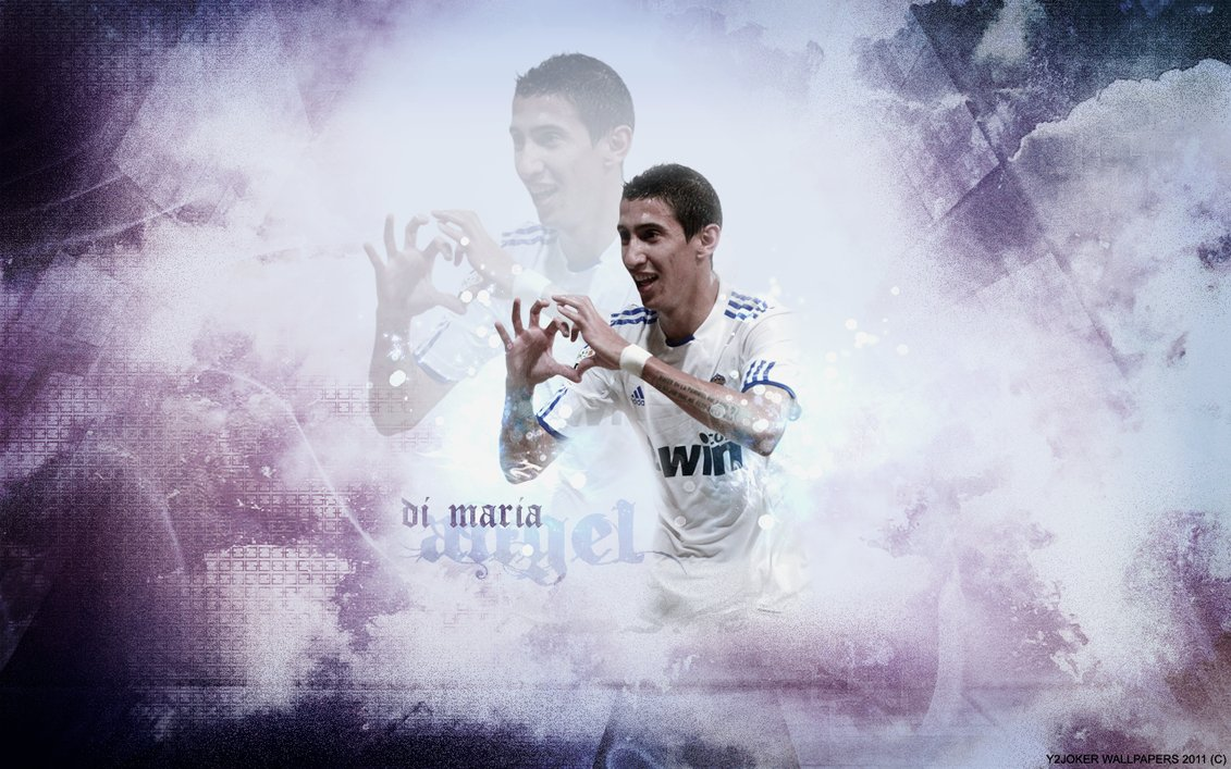 Wallpaper Free Picture Angel Di Maria Wallpaper 2011