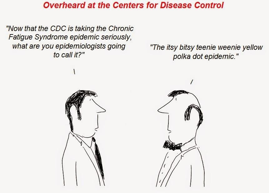 cfs, cartoon, cdc, hhv-6, myalgic, atlanta, epidemiologist, chronic fatigue syndrome