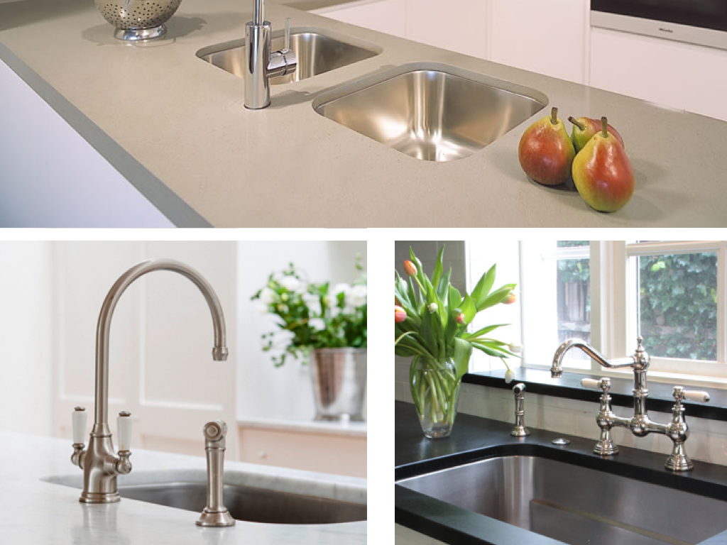 Kitchen Sink Options : WEST END COTTAGE: Kitchen Sinks - draining options